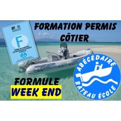 Permis Côtier formule Week End
