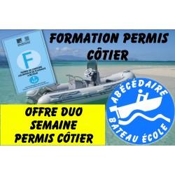 Offre DUO permis cotier...
